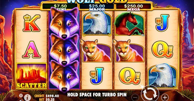 Zagraj w Wolf Gold slot online od Pragmatic Play za darmo już teraz | Kasynos Online