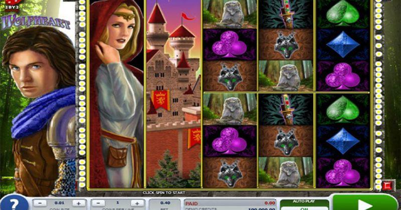 Zagraj w Wolf Heart automat online od 2by2 Gaming za darmo już teraz | Kasynos Online