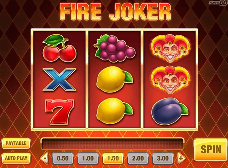 Fire Joker wideo Slot (recenzja 2019)